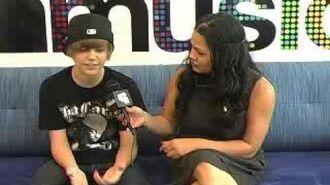 Justin Bieber LIVE at MySpace Music 06 09 09 02 35PM
