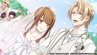 Izumo and saya wed