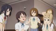 Nodoka laughing