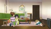 Sleepover at Ui's home