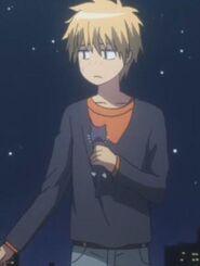 Takumi and the cat