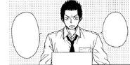 Masaru's appearance in the manga