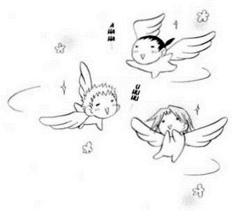 File:Manga moron trio as angels.jpg