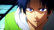 Kanou's glare