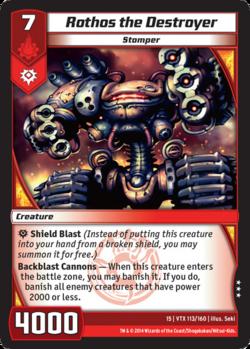Rothos the Destroyer (15VTX)
