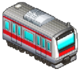 Red Striped Train (Station Manager)