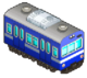 Blue and White Train (Station Manager)
