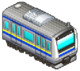 Yellow and Blue Train (Station Manager)