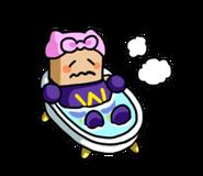 LINE sticker - Wairobot in bath