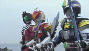 Kamen Rider Den-O & Decade NEO Generations The Onigashima Battleship
