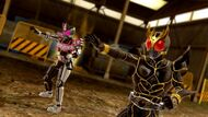 Decade Complete form and Kuuga Ultimate Form