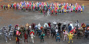 All Kamen Riders and All Super Sentai
