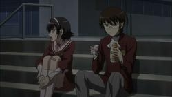 Ayumi shared her food
