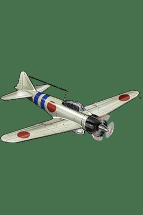 Type 0 Fighter Model 21 020 Equipment