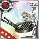 35.6cm Twin Gun Mount (Dazzle Camouflage) 104 Card
