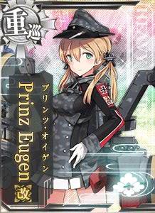 CA Prinz Eugen Kai 177 Card