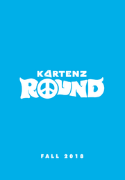 Kartenz ROUND Movie Blue Poster