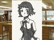 Hisao's drawing of Rin