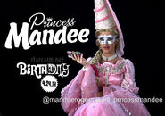 Katy Perry Princess Mandee