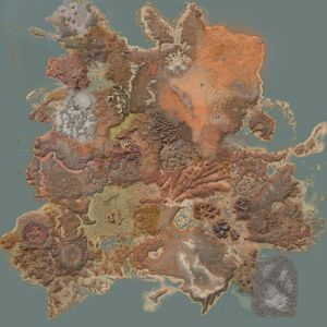 Kenshi Location Map