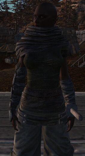 Female Flotsam Ninja