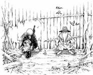 KenshinAndOiboreInRakuninmura