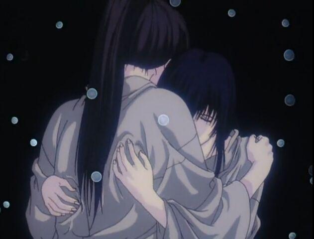 File:Love's night of Tomoe and Kenshin in Trust & Betrayal OVA.jpg