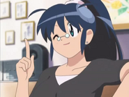 Aki smiling