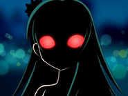 Notntruma girl with red eyes