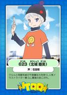 623's card