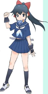 Koyuki from the flash series