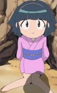 Omiyo as a child