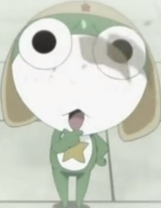 File:Chibi Keroro is frightened of meeting Garuru.jpg
