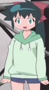 Koyuki in a n adorable sweater