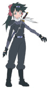 Koyu as a ninja
