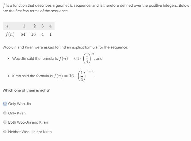 Write a sequence formula generator