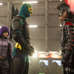 Kick-Ass & The Motherfucker right before the battle begins