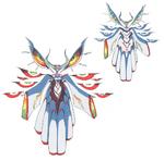 Ragyō Kiryuin body (Shinra-Kōketsu Second Form)