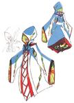 Ragyō Kiryuin body & Face (Shinra-Kōketsu+Sketch)