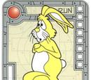 Yellow Super Timid Bunny