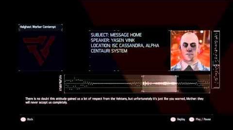 Killzone Shadow Fall Audiolog 05