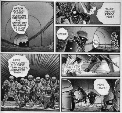 Hellhounds manga bigger size