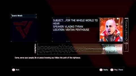 Killzone Shadow Fall Audiolog 13