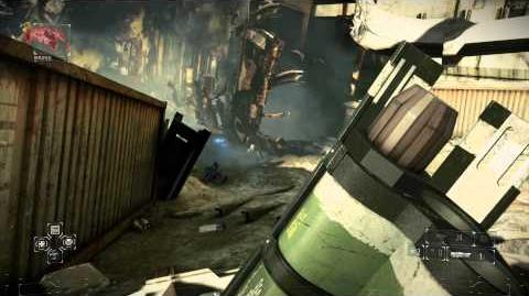 Killzone Shadow Fall - Chap 8 The Dead Walking Attack Drone & Mobile Scan Unit Destroyed Big Map