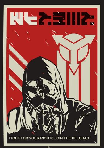 File:Helghast promo poster by korn44vergi-d65l9em.png