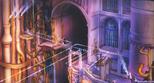 Hollow Bastion- Castle Gates (Art) KH
