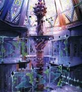 Hollow Bastion- Lift Stop (Art) KH