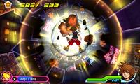 Dive Mode Mega Flare KH3D