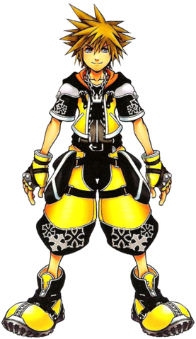 File:Sora- Master Form (Art) KHII.png