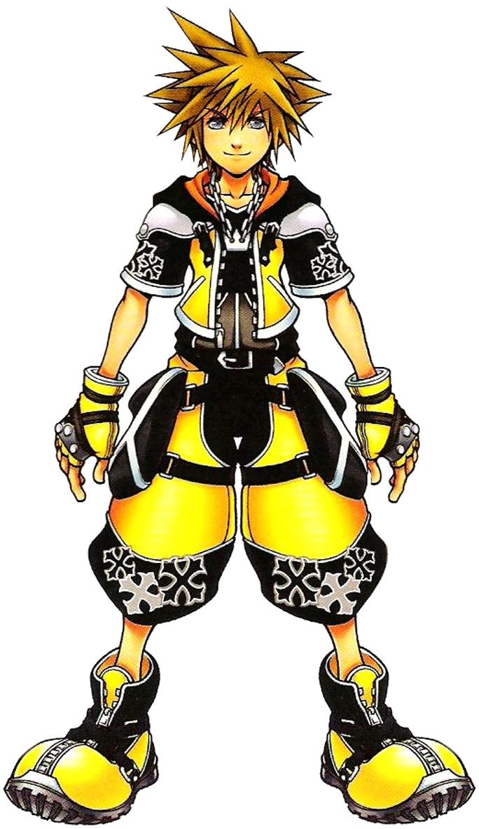 Concept Art Sora Costume - DFF by DJ1NNsGR1MO1R3 on DeviantArt